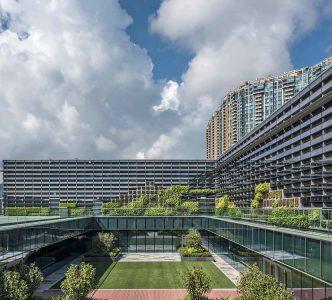 edificio hong Kong jockey club proyecto verosol