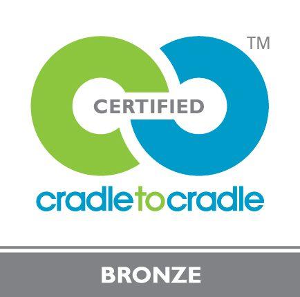 Logo cradle to cradle bronze