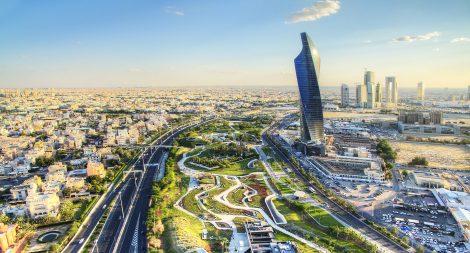 Panorámica Kuwait Al Hamra Tower